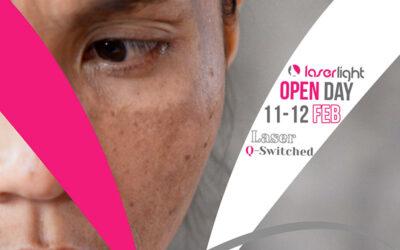 Open Day 11-12 Febbraio: Trattamenti con Laser Q-Switched